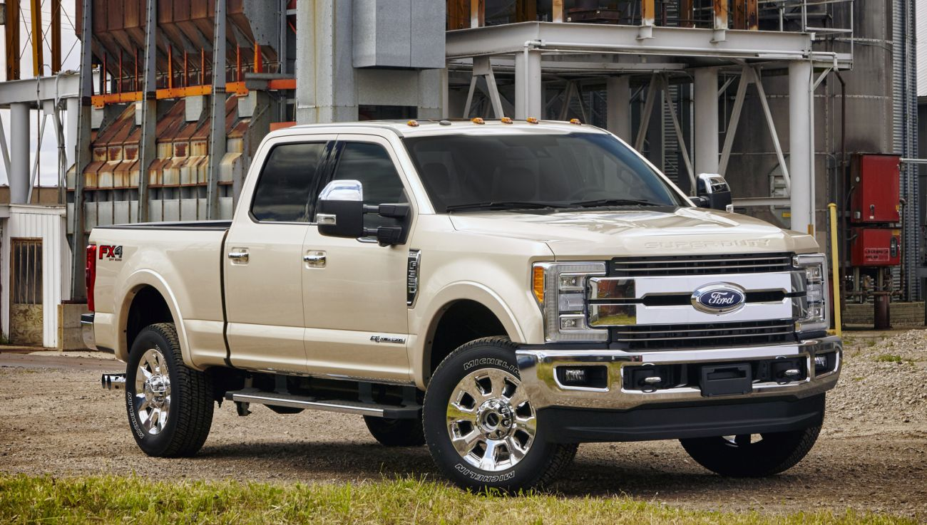 The 2018 Ford Super Duty Lineup